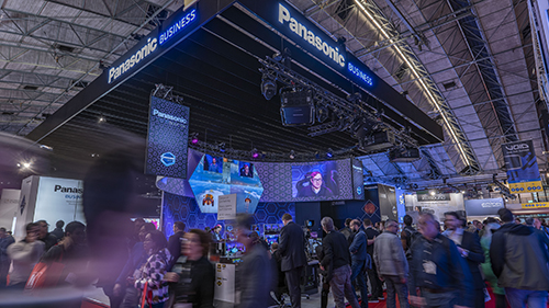 Panasonic Business Booth at ISE 2020