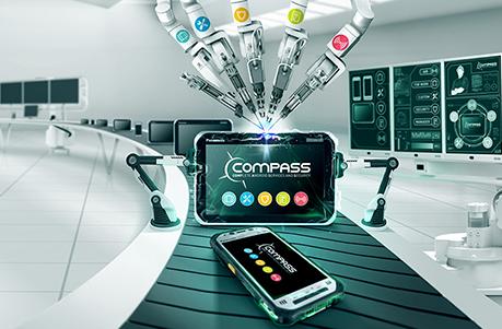 Compass header