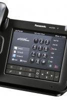 UT670 İş Tipi Siyah Telefon -Soldan Görünüm