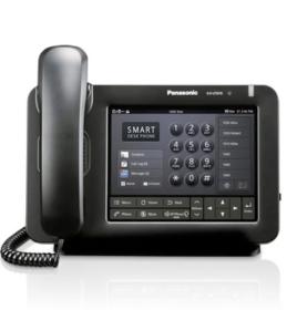 panasonic lance le t l phone de bureau intelligent ut670 communication solutions panasonic. Black Bedroom Furniture Sets. Home Design Ideas