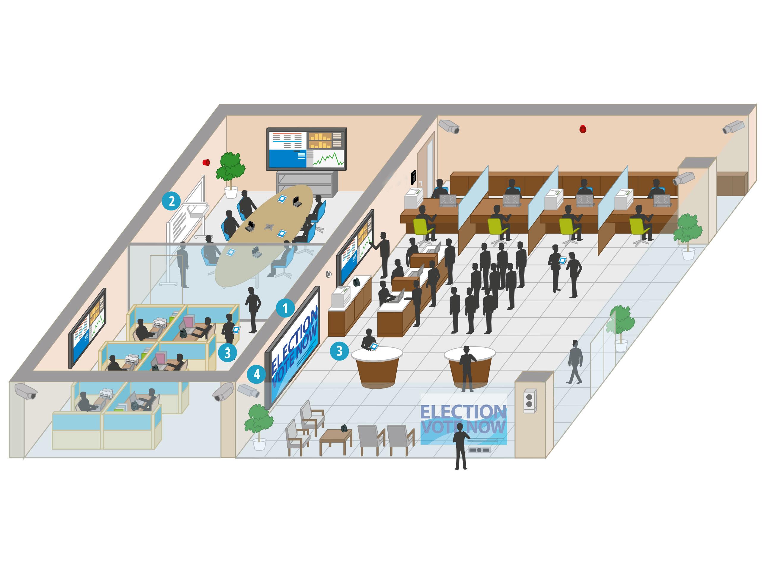 Comment les solutions de Panasonic aident-elles les administrations publiques?