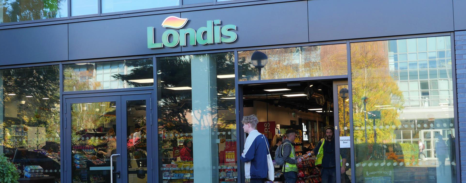 Londis DCU has incorporated numerous Panasonic technologies in to its newly built retail technology showcase at Dublin City Univ