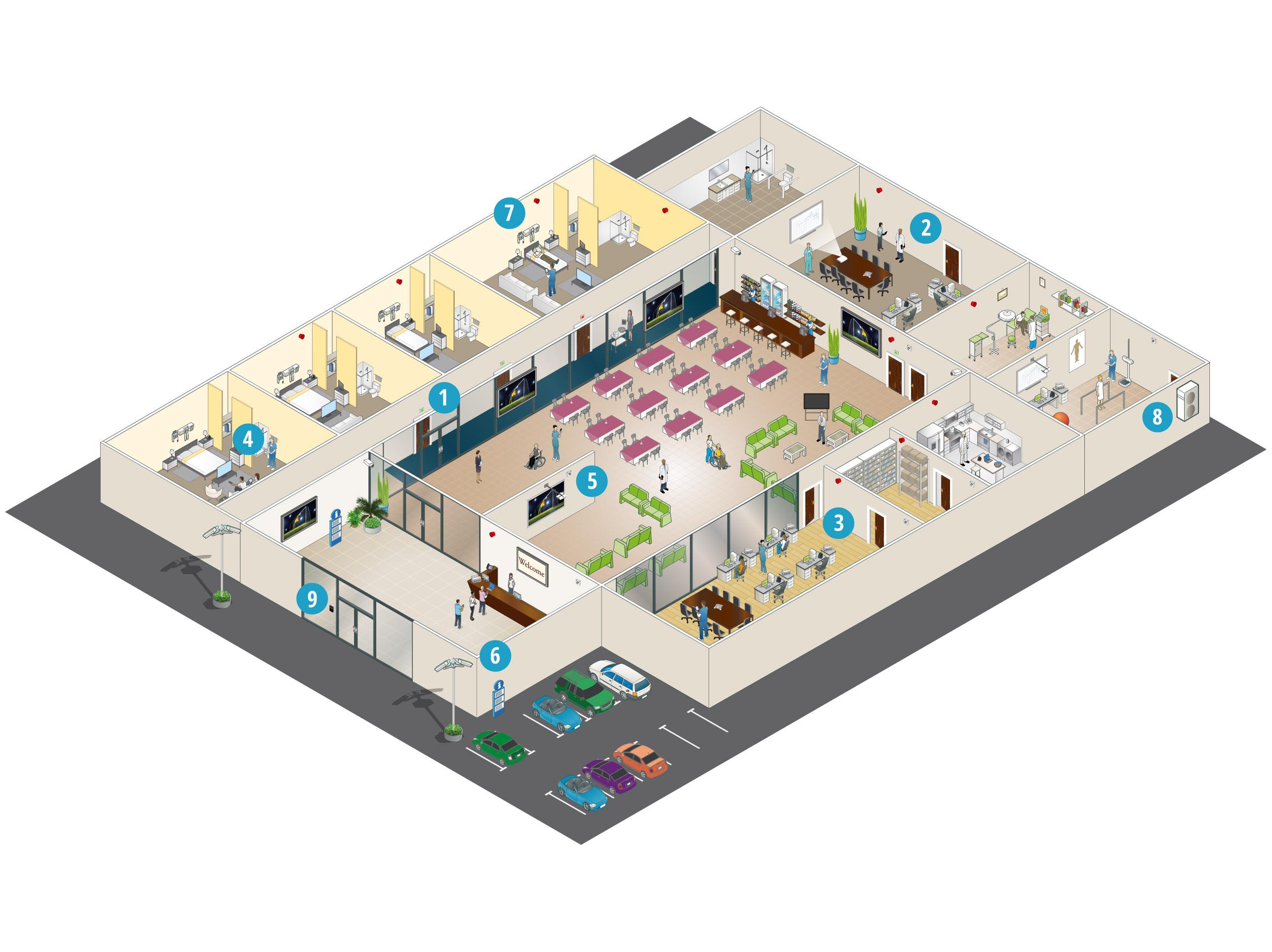 Comment les solutions de Panasonic aident-elles les foyers d'accueil?