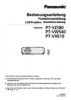 PT-VZ580/VX610/VW540 Operating Instructions (English)