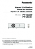 PT-VW360/VX430 Operating Instructions (French)
